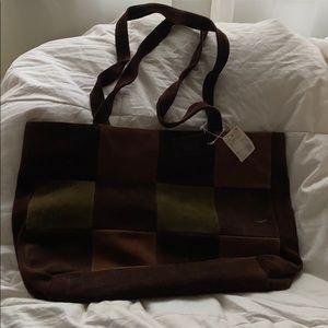 Vintage Dillards Suede Bag I